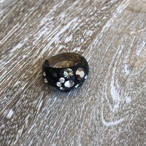 Lia Sophia black ring